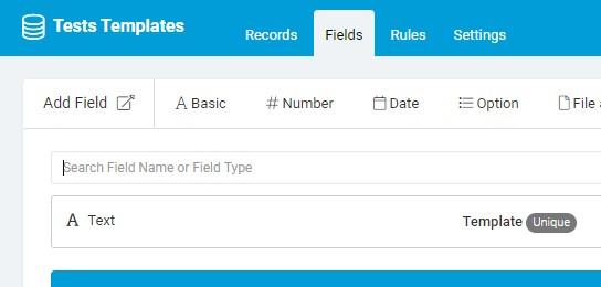 4a_Test Templates Fields